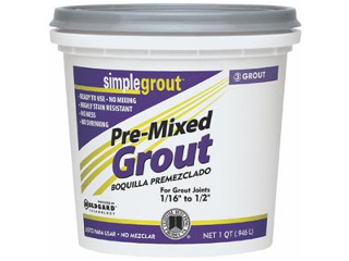 Pre-Mixed Tile Grout Bright White (Sizes)