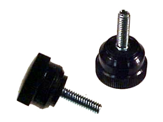Knurled Clamping Knob, 10-32 x 9/16 In
