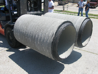 Cox Hardware And Lumber Concrete Culvert Pipe 18 In X 48 In