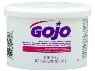 Orange Hand Cleaner Creme with Pumice Gojo 14 Oz tub