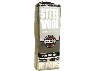 Steel Wool #2/0 Very Fine 16 Pack