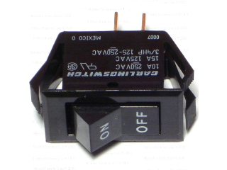 On-Off Black Rocker Switch