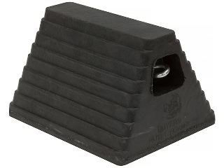 Rubber Wheel Chock 6 In x 8 In