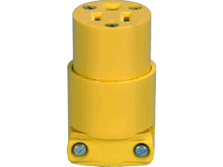 Commercial Grounding Connector, 15 Amp