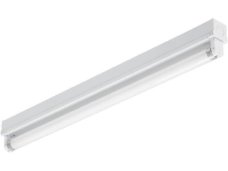 Cox Hardware and Lumber - Single Strip T8 Fluorescent Fixture, 24 In