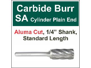 Carbide Burr Aluma Cut 1/2 In x 1 In x 1/4 In SA-5NF