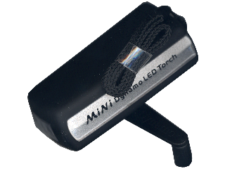 Compact Hand Crank Flashlight