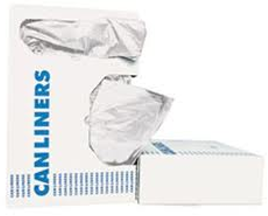 Trash Can Liner 8-10 Gallon White