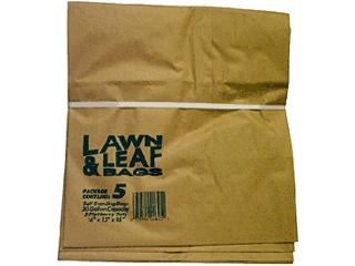 Lawn Leaf Paper Bag 30 Gallon 5 Pack