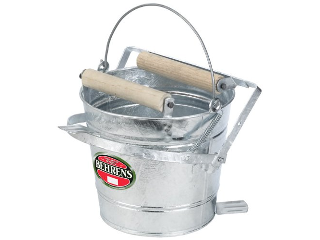 Cox Hardware And Lumber Galvanized Mop Wringer Pail 12