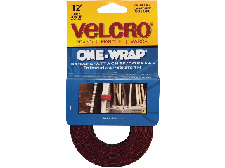 Velcro One Wrap Tie Strap, 3/4 In x 12 Ft