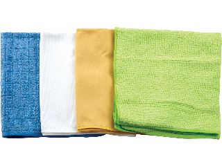 All Purpose Microfiber Rags, 4 Pack