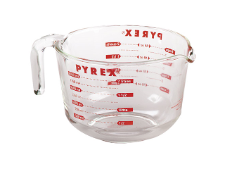 Glass Mixing & Measuring Bowl 2 Quart