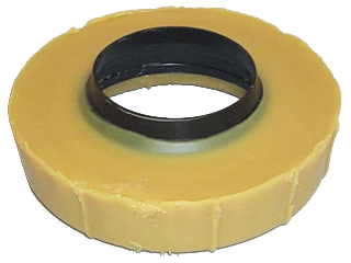 Extra Thick Toilet Bowl Wax Gasket With Poly Ring