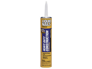 Liquid Nails Heavy Duty Condtruction Adhesive 28 Oz