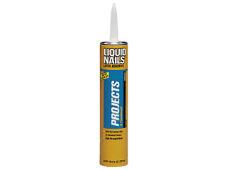 Liquid Nails Project And Foamboard Latex Adhesive 10 Oz