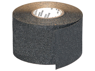 Anti Slip Tape 4 In Black Sold Per Ft