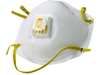 3m cool flow respirator mask