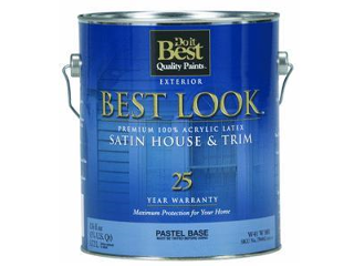 Cox hardware and lumber best look satin latex house paint pastel gallon Best satin paint