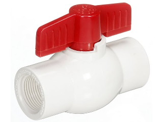 Threaded Ends PVC Ball Valve (Sizes)