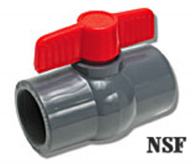 Sch 80 PVC Ball Valve Socket (Sizes)