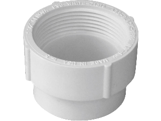 PVC-DWV Cleanout Adapter (Sizes)
