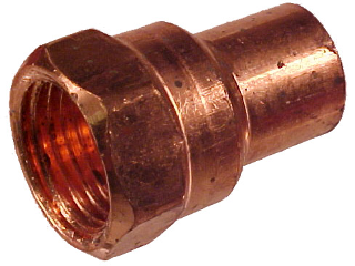 Copper Female Adapter (Sizes)