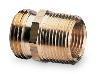 Brass Male NH to Male/Female NPT Hose Adapter