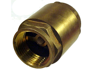 Brass In Line Check Valve (Sizes)