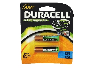 AAA Rechargable Battery, 2 Pack