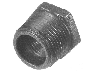 Schedule 40 Galvanized Bushing 125 Lb