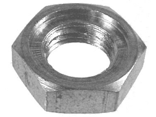 Schedule 40 Galvanized Locknut 150 Lb