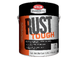 Acrylic Alkyd Enamel Dark Machine Gray Rust Tough Gallon