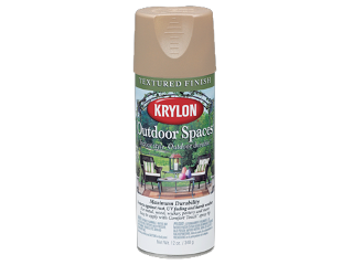 Krylon Outdoor Spaces Textured Finish Khaki 12 Oz