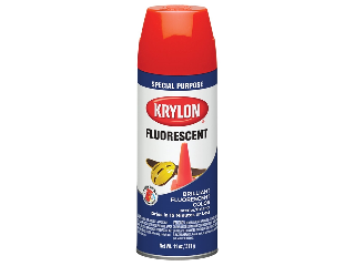Krylon Fluorescent Yellow/Orange 11 Oz