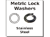 Metric Lock Washers Stainless Steel