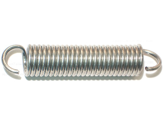 Extension Spring, 3/4 In x 3-13/16 In
