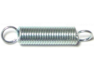 Extension Spring, 5/16 In x 1-1/2 In