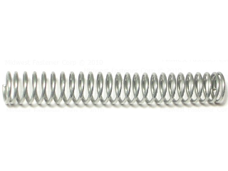 Compression Spring, 1/2 In x 3-9/16 In