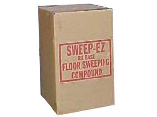Delightful Red Oil Base Floor Sweep 50 Lb Box